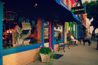 Downtown Independence Missouri.