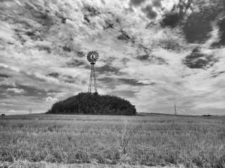 Nebraska landscape west of Sutherland Reservoire, Nebraska.