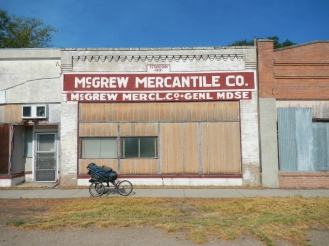 Downtown Mcgrew Nebraska.