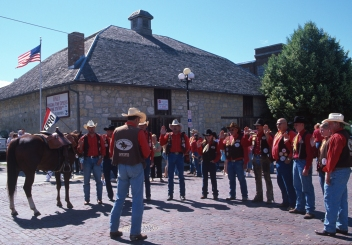 Pony Express Re-riders take the oath (2006)