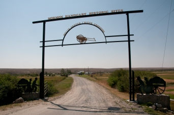 Entrance to the Willie Handcart historic site. An important historic location to the Mormon migration.