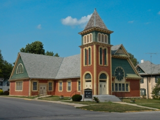 Church in Highland Kansas