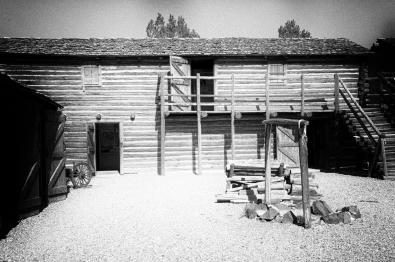 Replica of Fort Hall, Pocatello Idaho.