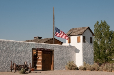 Replica of Fort Hall, Pocatello Idaho.