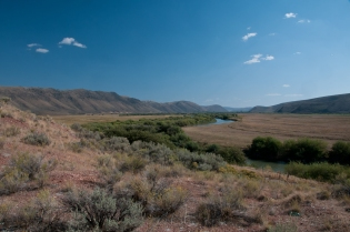 Bear River Idaho along the Oregon Trail.