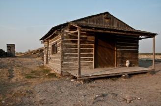 Sticker Store. It provided provisions to emigrants along the Oregon trail during the later years of the migration. South east of Twin Falls Idaho.